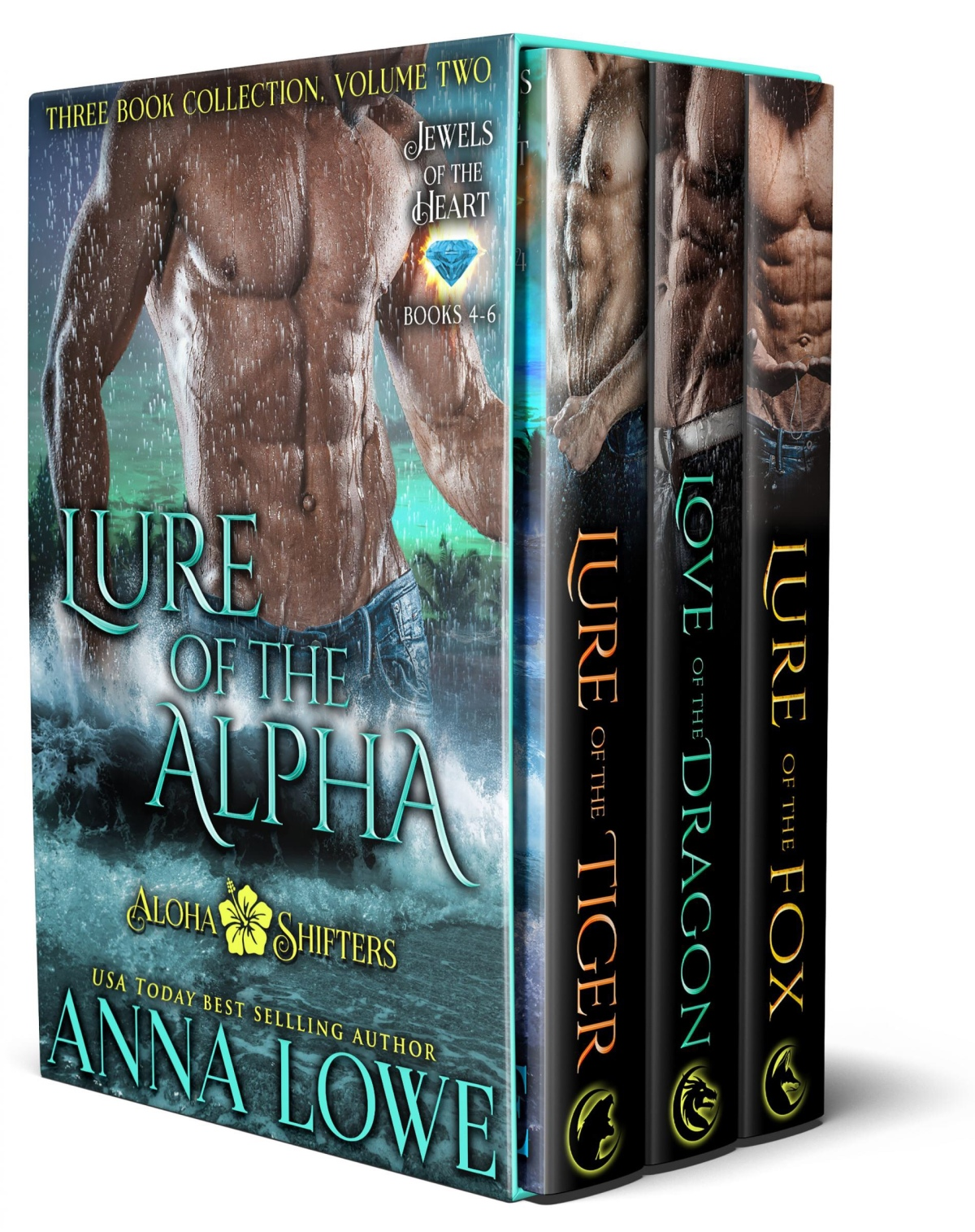 Lure of the Alpha: Three Book Collection – Volume2