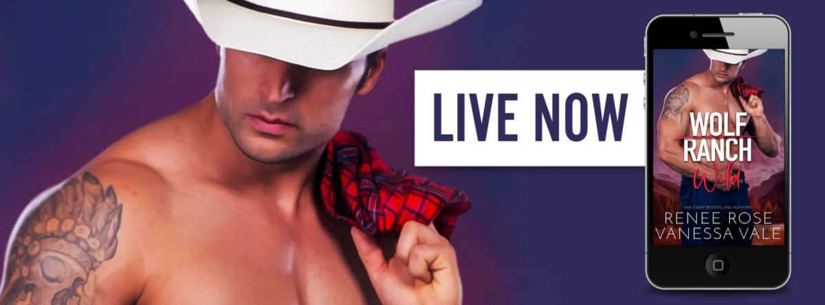 Wolf Ranch: Wild by Vanessa Vale & Renee Rose is nowlive!