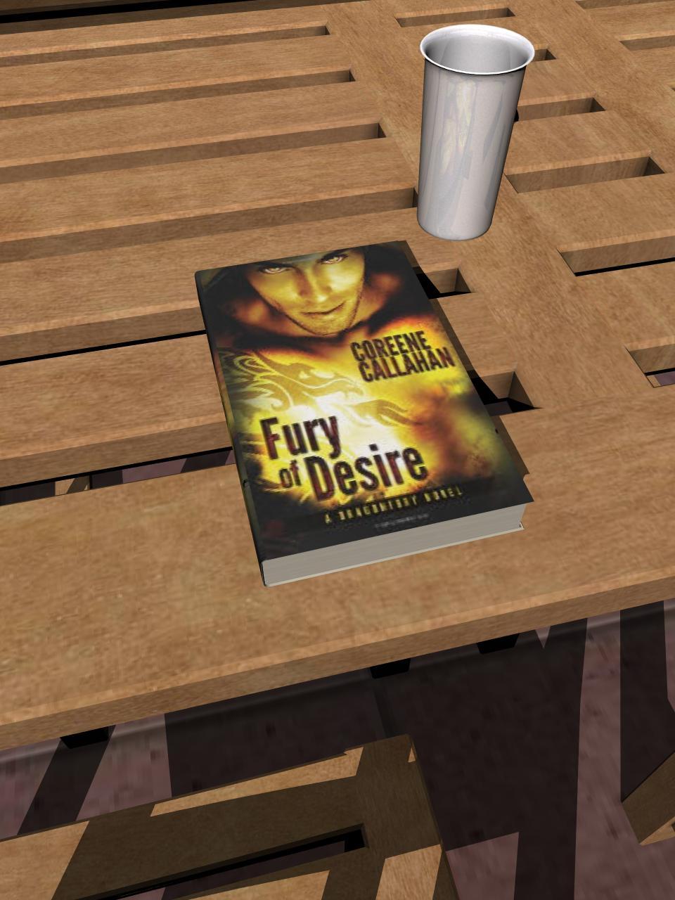 Fury of Desire (Dragonfury Book4)