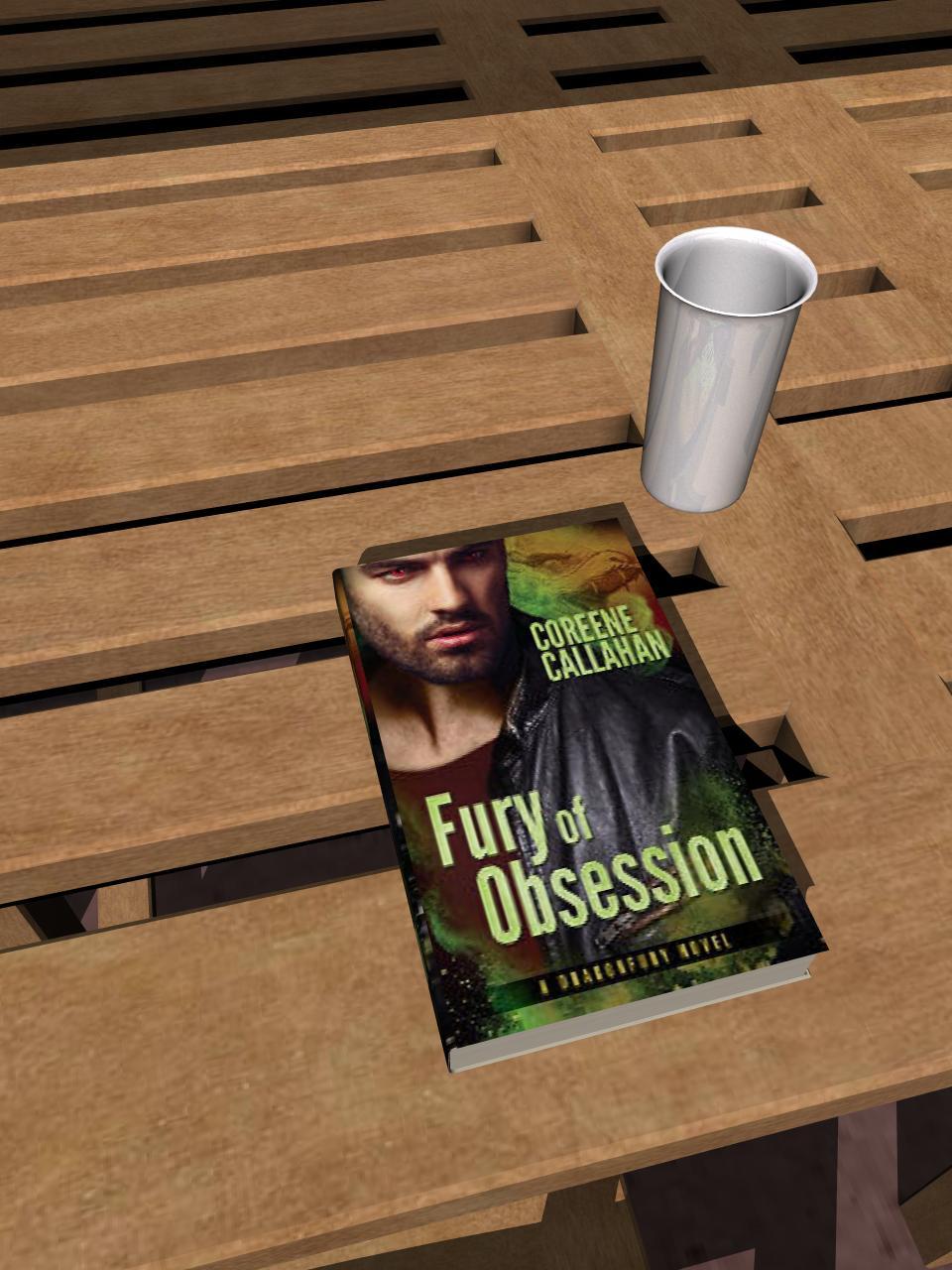 Fury of Obsession (Dragonfury Book5)