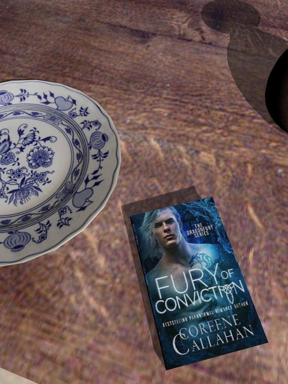 Fury of Conviction (Dragonfury Bad Boys Shifter Series Book2)