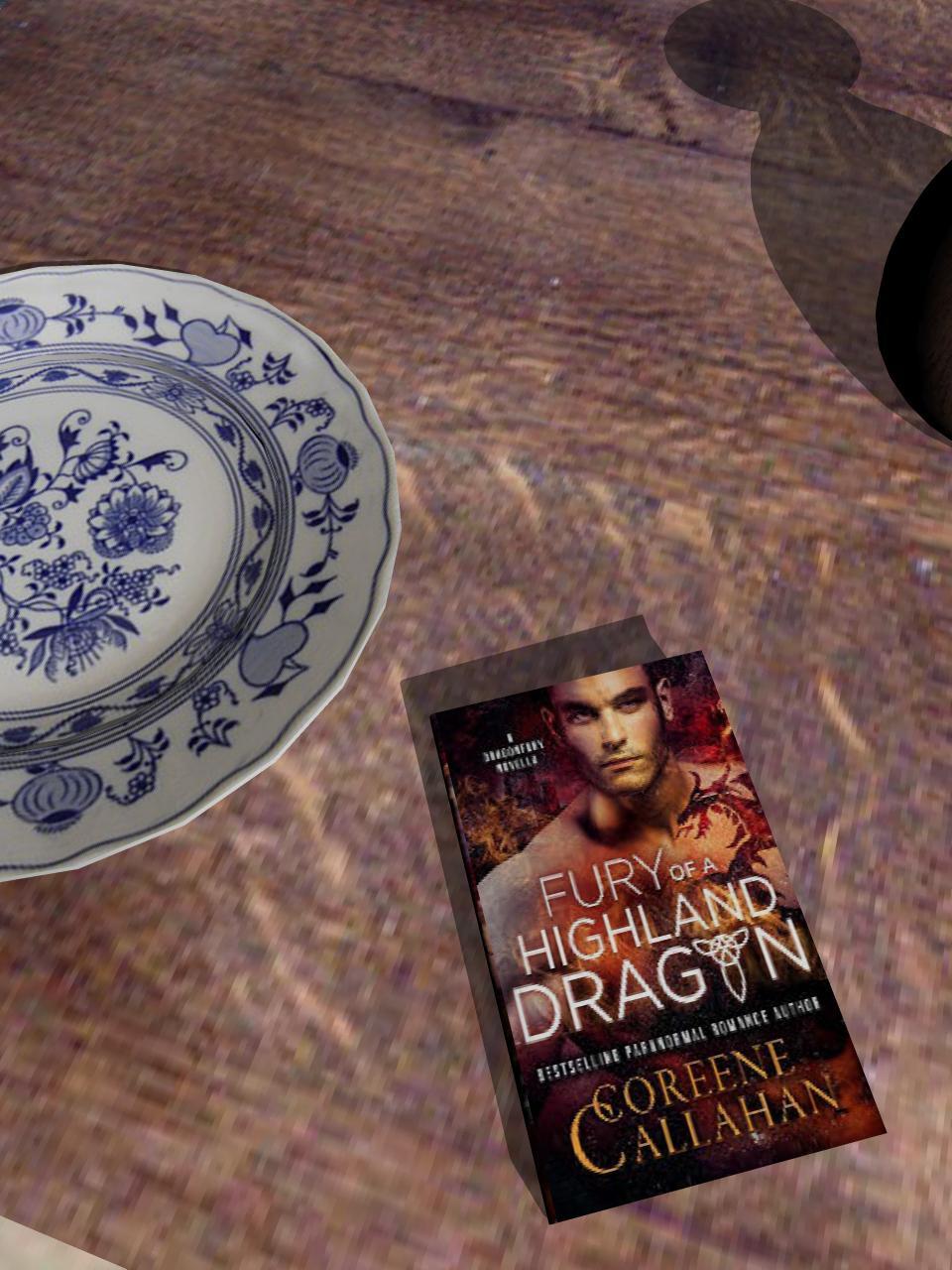 Fury of a Highland Dragon (Dragonfury Scotland Book1)